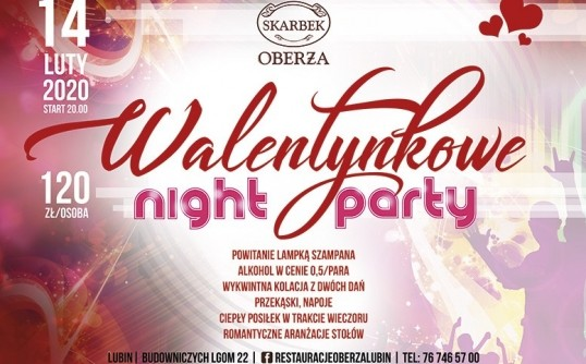 Walentynkowe Night Party